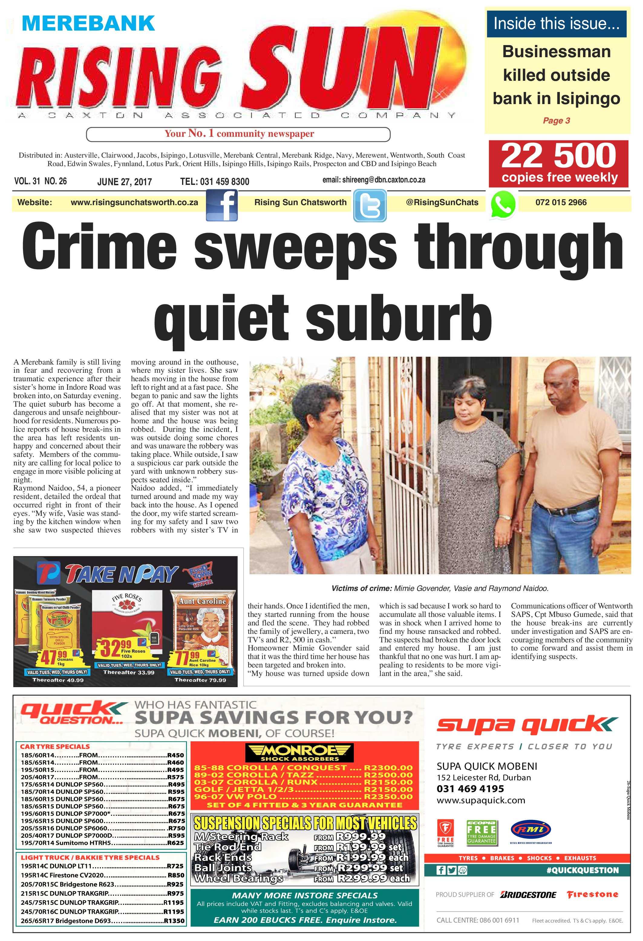 Retired Police Cars For Sale >> Rising Sun Merebank, June 27 - Rising Sun Chatsworth